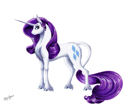 MLP - Rarity by SilverWolf866
