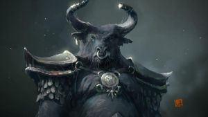 king minotaur by soft-h
