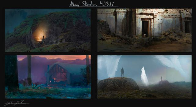 Mood Sketches 4.23.17 by mastrman