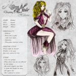 Heliane - Character Card by Noire-Ighaan