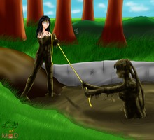 Quicksand Rescue (Commission) by Lady-of-Mud
