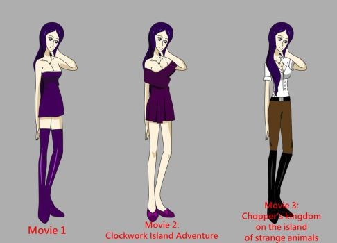 [One Piece] Movie Outfits by CharleneRosette