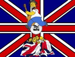 The Simpsons+The Who by NecronomiconED2