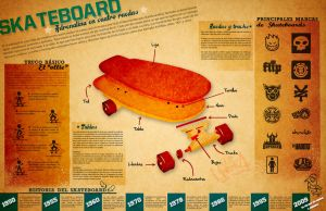 Skateboard Infographic by Hirok-A
