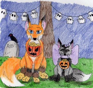 Trick Or Treat - Entry by KrestenaWolfShadow