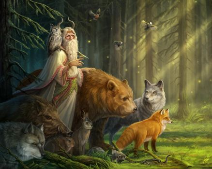 Forest Keeper by baklaher