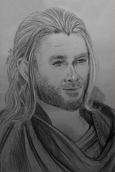 Thor by Nifriel