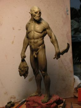 Orc maquette. by BOULARIS