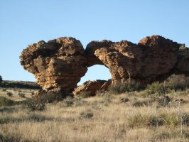 Picture Canyon Rock Arch by qxvw198