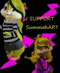 I Support SummahART stamp! by rigbyfangirl23
