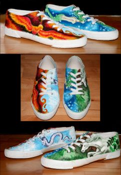 four elements shoes by steeerne