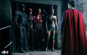 Justice League / Superman is back by GOXIII