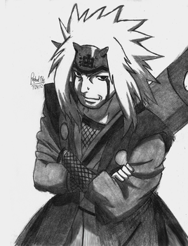 Jiraiya- Naruto by rapperfree