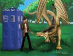 The Doctor and the Dragon by NetRaptor