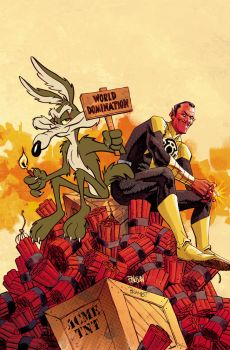 Sinestro and Wile E Coyote by urban-barbarian