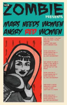 Mars Needs Women Poster by evilnick