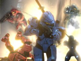 Halo 3 Action Shot by iperalta