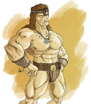The Barbarian by Morier23
