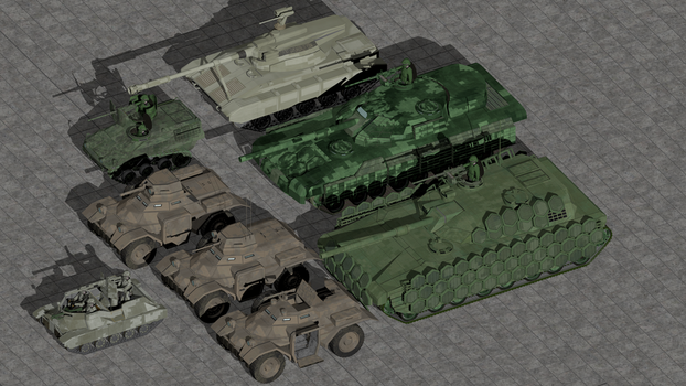 Recent armored vehicle Projects by wbyrd