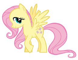 Fluttershy Base concept by Durpy