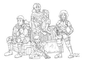 Wasteland Wanderers by The-Alchemists-Muse