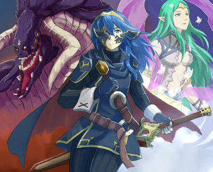 FE: Two worlds by Vidolus