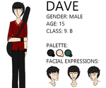 Dave reference sheet by EmmaItoh
