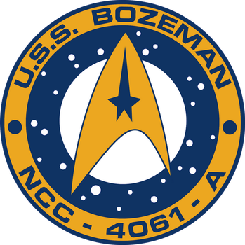 USS Bozeman Ship's Patch by viperaviator