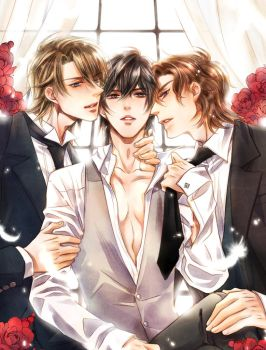 3 man together by secretes