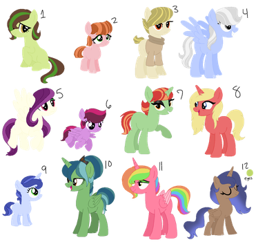 MLP Adopt Batch 1 (7/10 Open) by Butterball-N-Company