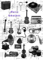 Music Brushes by kmh425