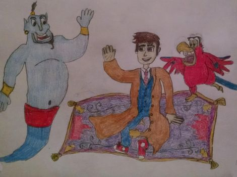 The Doctor's Adventures in Agrabah by Sparrow12592