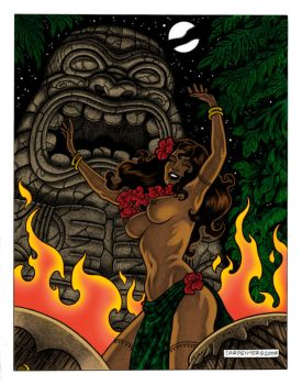 Night of the Tiki by Carpenter by Dietrich-March