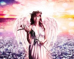 Angel Flowers by Lolita-Artz