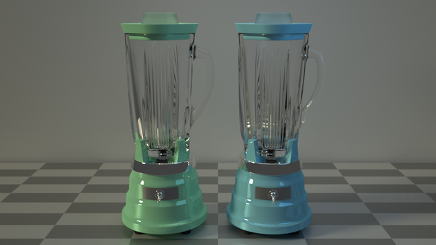 1950's Blender by kbmxpxfan