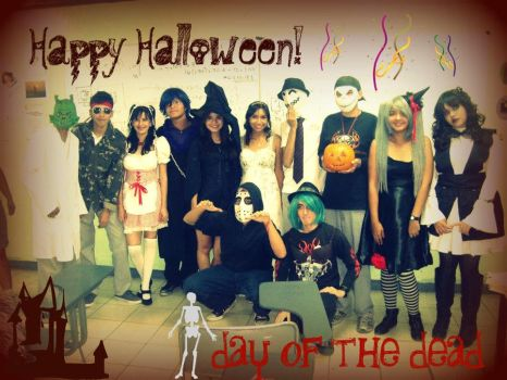 Happy Halloween And Day of tha Dead by ArinWalker