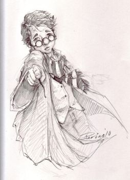 Young Harry Potter by ringbearer80