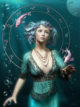 Pisces by Eikiland