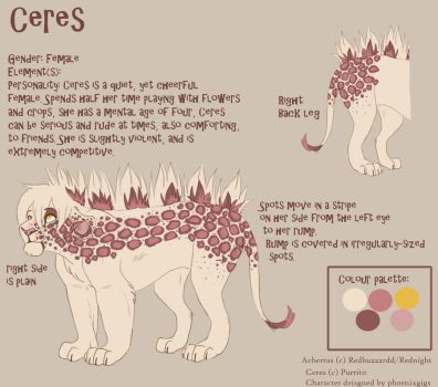 Ceres - Reference Sheet by phoenixgigs