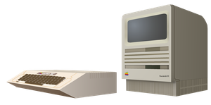 (late gift)Mac Se and Apple 2 by Windows7StarterFan