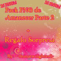 Pack 16 PNG's de Amanecer Parte 2 by 0-ninatwilighter-0