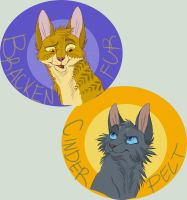 Littermates for Life by Graystripe64