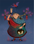 HALLOWEEN WITCH WIP by NCHEVALIER