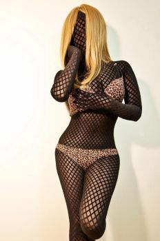 Fishnet zentai by 1982colin