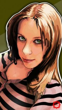 Kathy Portrait by i-Of-The-Storm