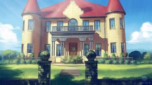 Mansion (VN Background) by ExitMothership