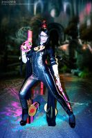Bayonetta cosplay - let's dance by Daelyth
