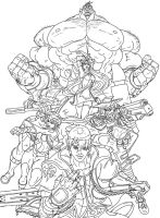 ARMSmasters 2012 - Lineart by mikewinn