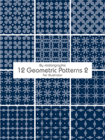 geometric patterns 2 by midorigraphic