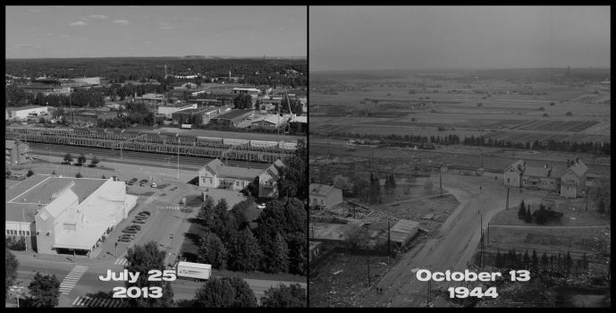 1940's vs 2013, part XII by wchild